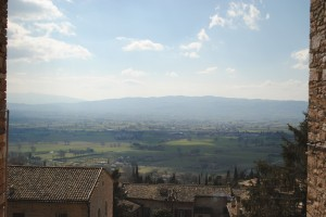 Blue skies over Umbria