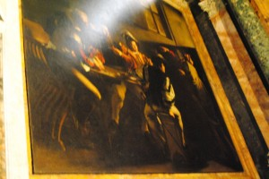 Caravaggio's The Calling of St Matthew, Finally!