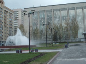 One of the most interesting sights in Novosibirsk