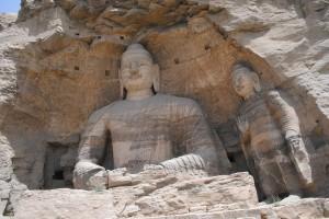 A carving at Yungang caves