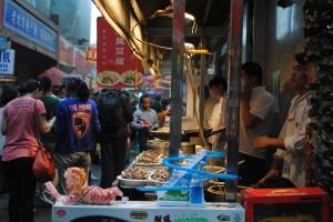 Yet another food market, Beijing