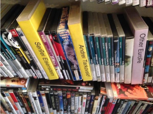 Russian selection at the old Broadway Market branch. Thanks @tpaleyfilm for the pic!